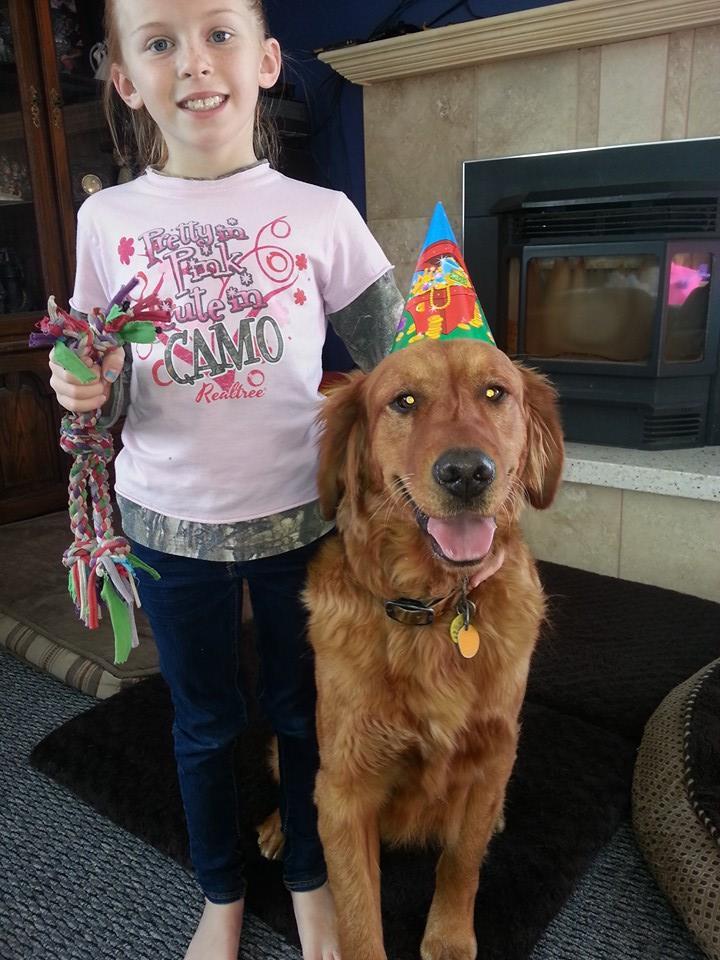Rusty @ 1 year old!